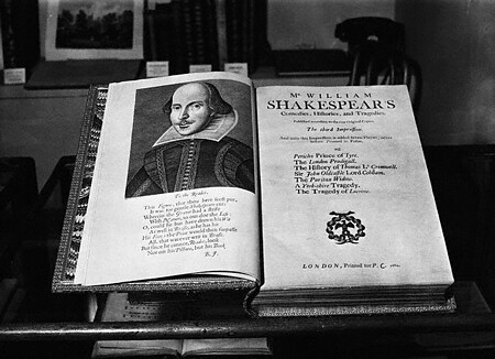 Third Folio edition of Shakespeare, printed 1664 - Grosvenor House, 1952