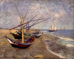 Sts. Maries Boats, by Vincent van Gogh