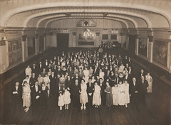 a staff dance, 5th December 1922