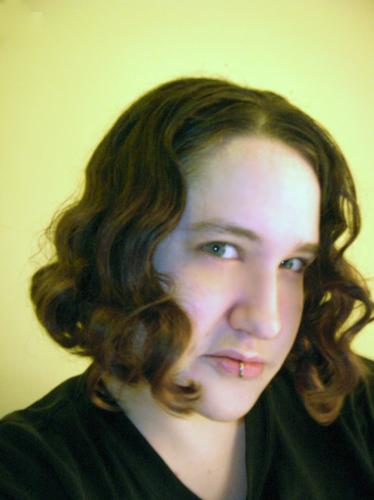 wavy hair July '07