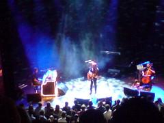 Tom McRae on stage