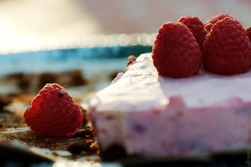 Photo: 'Midsummer eve, Raspberry cake' - Click to open new tab with this image on flickr (metadata, larger size, LOBB).