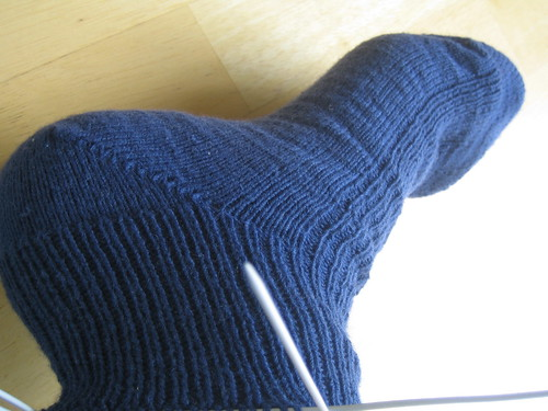 Knitty's Universal Toe-Up Sock Pattern