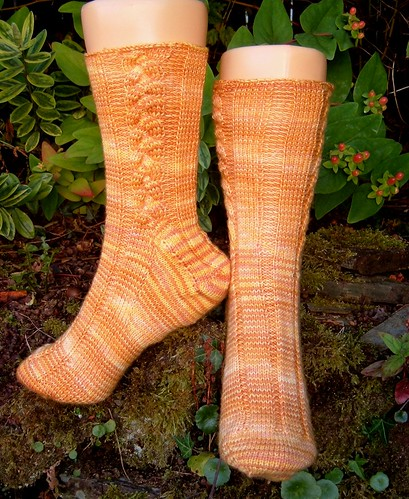 Elegance Socks - very pretty!