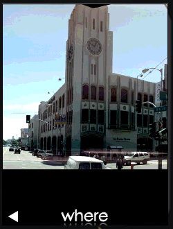 WHERE Street View image