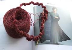 box lace shawl