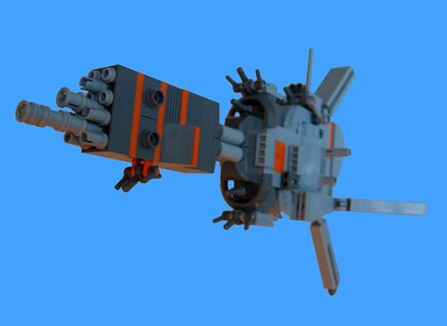 Hephaïstos, commander ship