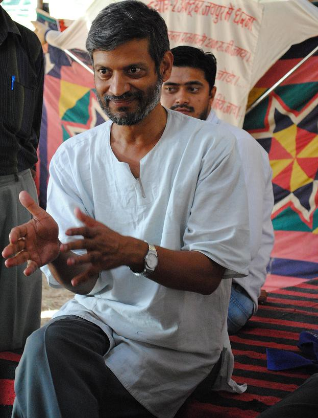 Pics from the satyagraha - 4 Oct 2010 - 3