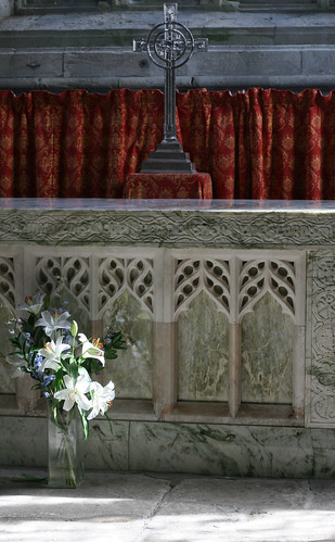 Altar at the Iona abbey