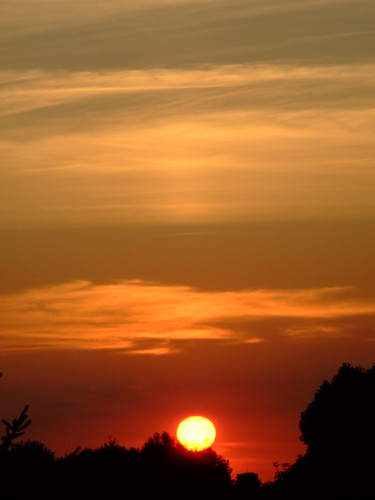 Layered Sunset Lights