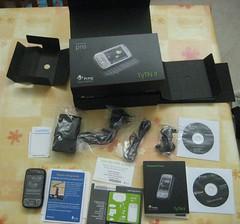La confezione dell'HTC TyTN II