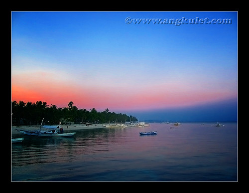 Sunset at Malapascua Island, Cebu