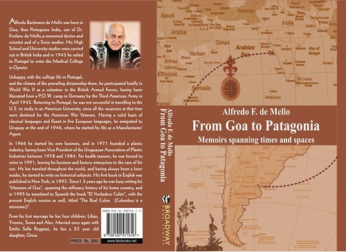 From Goa to Patagonia by you.