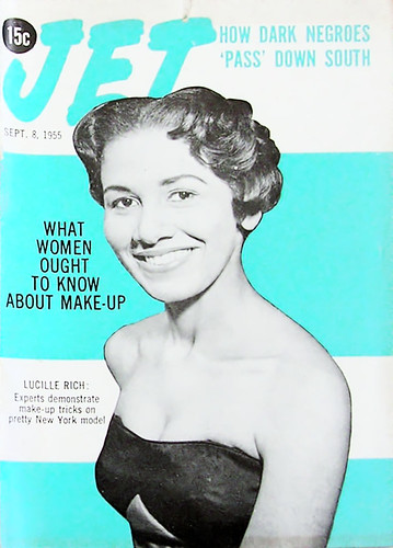 What Women Should Know About Makeup - Jet Magazine September 8, 1955 by vieilles_annonces.