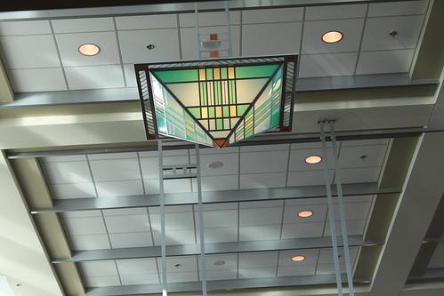 Madison, Wisconsin - Frank Lloyd Wright Light at Airport