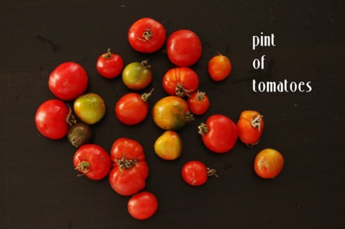 pint of tomatoes