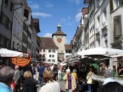 Solothurn Bieltor und Gurzelngasse