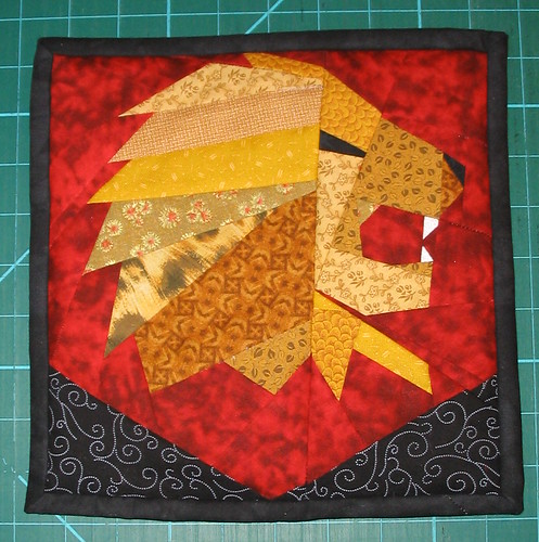 Gryffindor Lion Wallhanging
