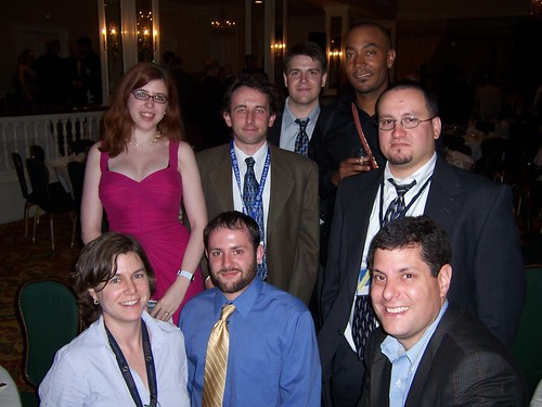 Cartoonists With Attitude Partial Group Photo at the AAEC Banquet