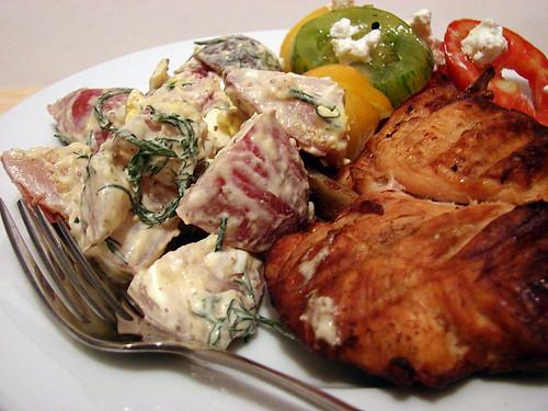 Dinner:  July 28, 2007