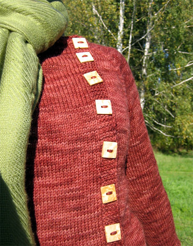 Wooden buttons