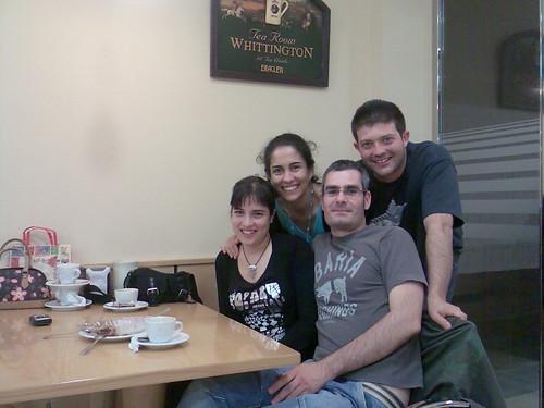Clara, Wendy, Tolda y Raúl