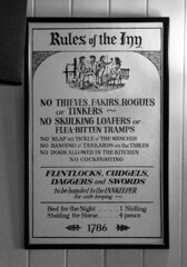 Rules of the Inn 1786