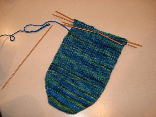 Carabean Sock Progress