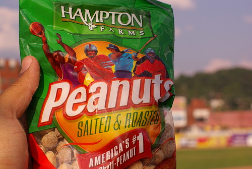 Peanuts @ Appalachian Power Field
