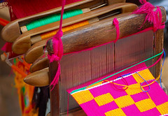 Change is good--Kente Cloth Loom