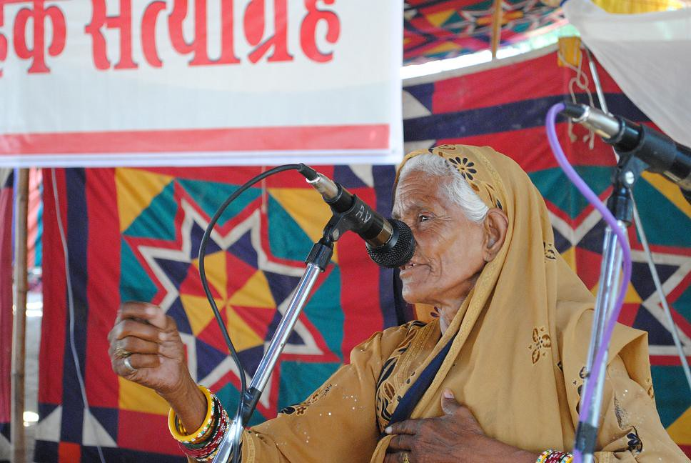 Pics from the satyagraha - 2 Oct 2010 - 16