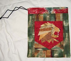 Gryffindor Gift bag for Melissa Anelli