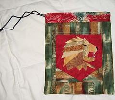 Gryffindor Gift bag for Melissa Anelli