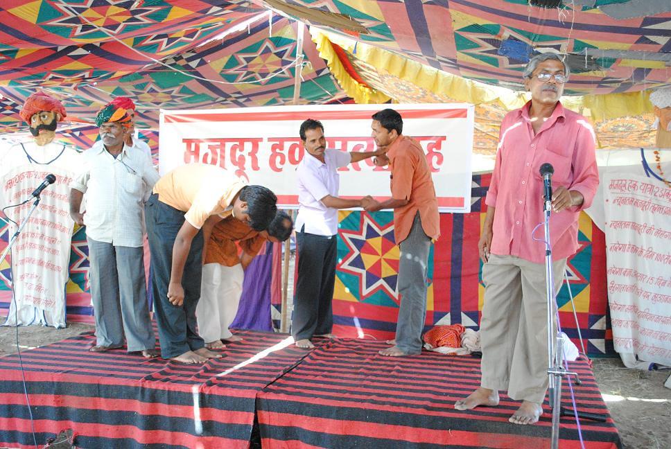 Pics from the satyagraha - 4 Oct 2010 - 11