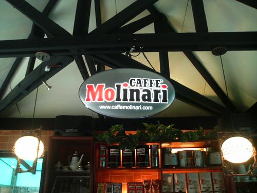 Caffe Molinari at Matalino Street, Quezon City