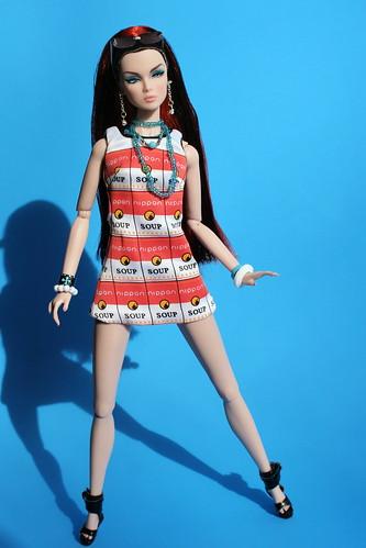 Lillith Models the Souper Dress