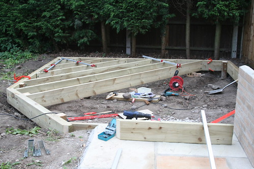 Joists on the deck