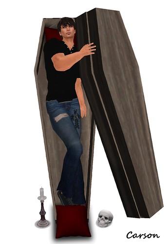 GLITTERATI - The Coffin