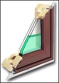 water glazed windows