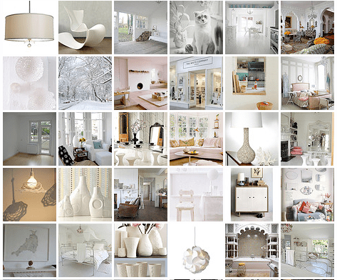 White Inspiration - Flickr Slideshow