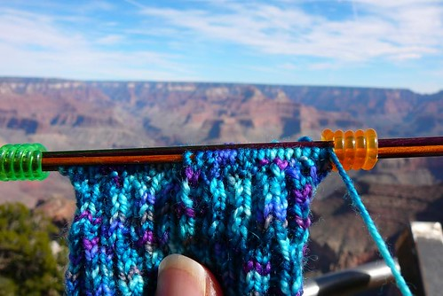 Travelling with Knitting