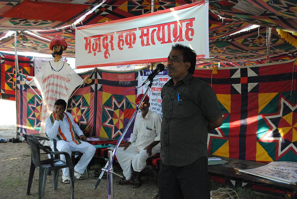 Pics from the satyagraha - 4 Oct 2010 - 11