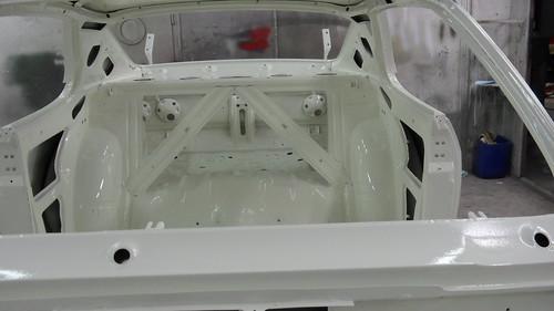 Binnenzijde Opel Manta is wit (RR)