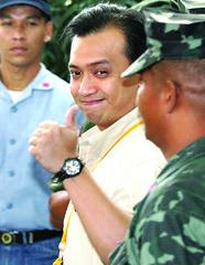 Senator-elect Antonio Trillanes IV