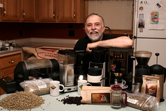 My Dad, the coffee guy