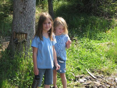 Dot and Em at Howard Springs