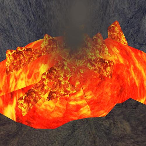 lava bubbles enticingly