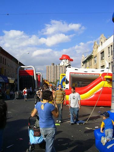 So many bouncy castles