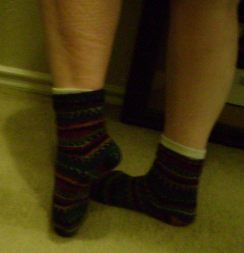 Completed Socks