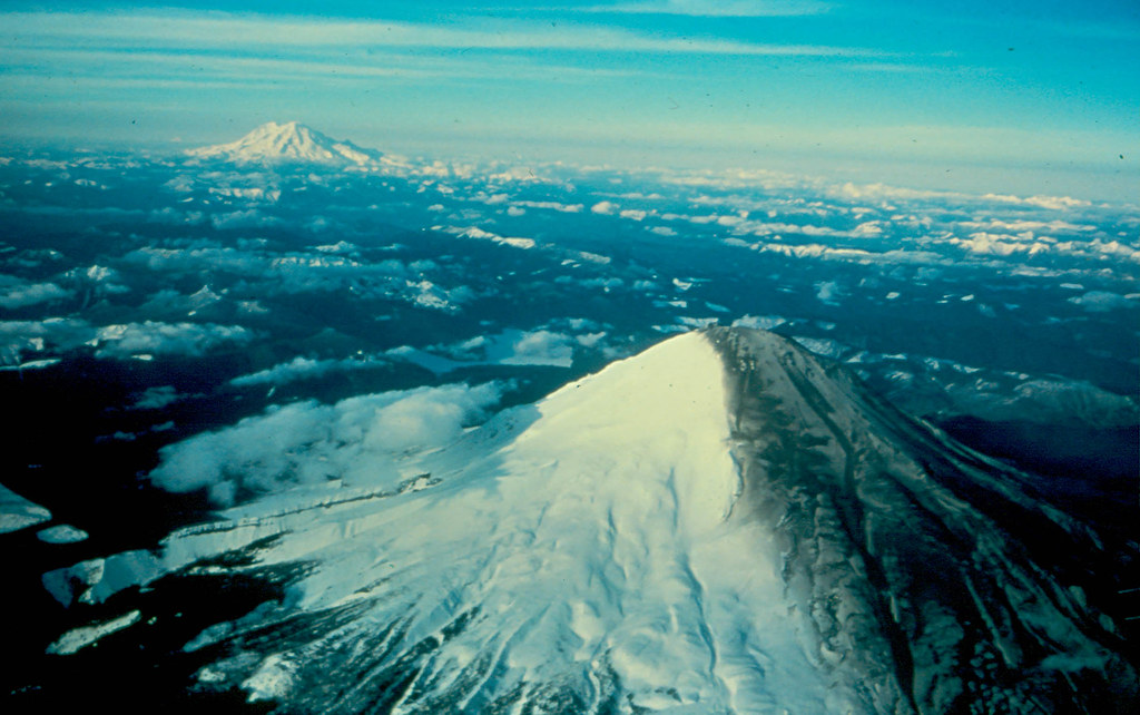 Mount St. Helens-March 30, 1980